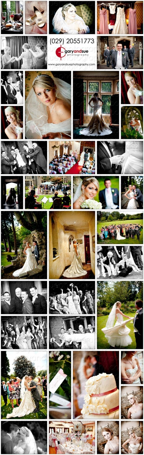 A Sample of Lianne and Andrews wedding pictures at Miskin Manor